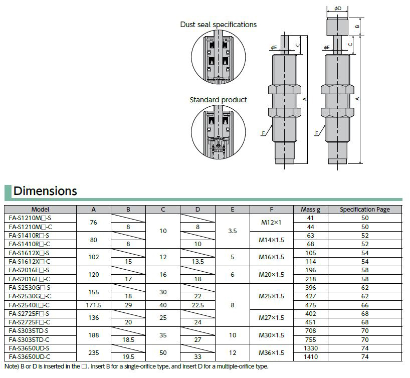 FA-S2530GB-*