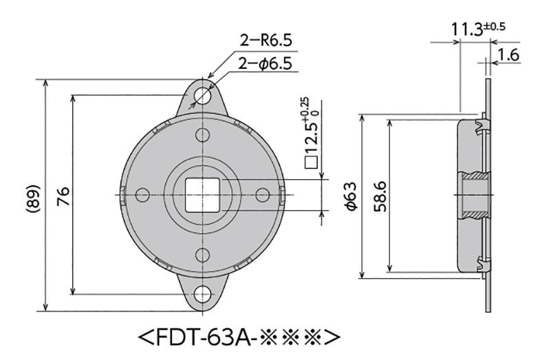 FDT/FDN-63シリーズ