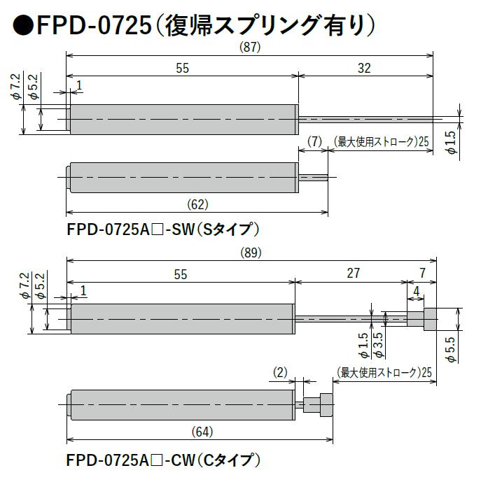 FPD-0725シリーズ