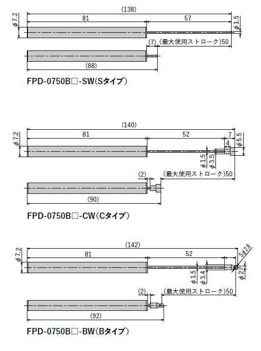 FPD-0750シリーズ